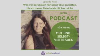 Podcast Fokus halten